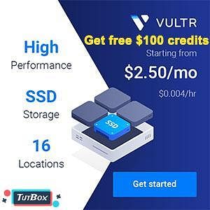 TutBox use Vultr